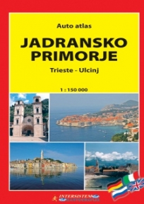 Jadransko primorje - auto atlas