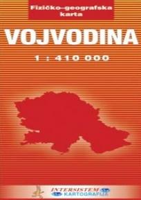 Fizičko-geografska karta Vojvodine