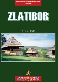 Zlatibor - turističko-planinarska karta