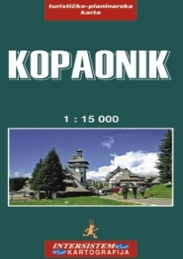 Kopaonik - turističko-planinarska karta