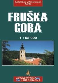 Fruška Gora - turističko-planinarska karta