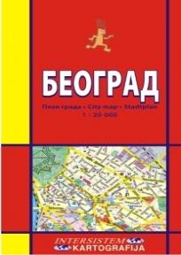 Beograd - plan grada (ćirilica)