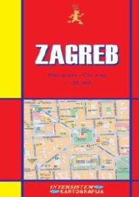 Zagreb - plan grada