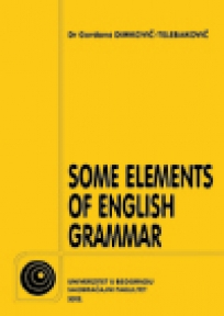 Some elements of english grammar