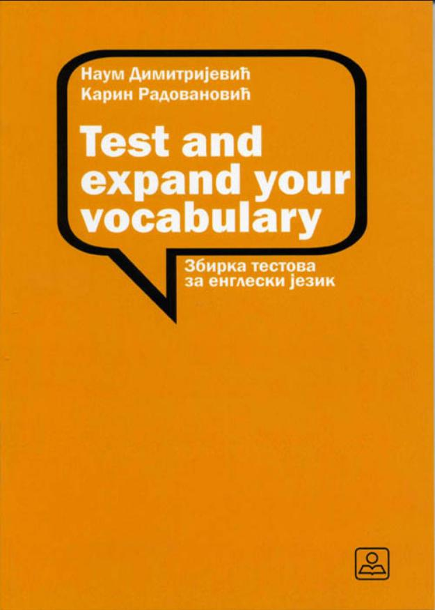 Test and Expand Your Vocabulary