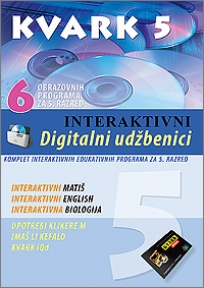DVD 5 - Interaktivni digitalni udžbenici