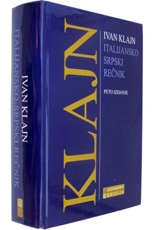 Italijansko - srpski rečnik