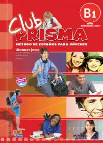 Club Prisma B1, španski jezik za 3. i 4. razred srednje škole, udžbenik