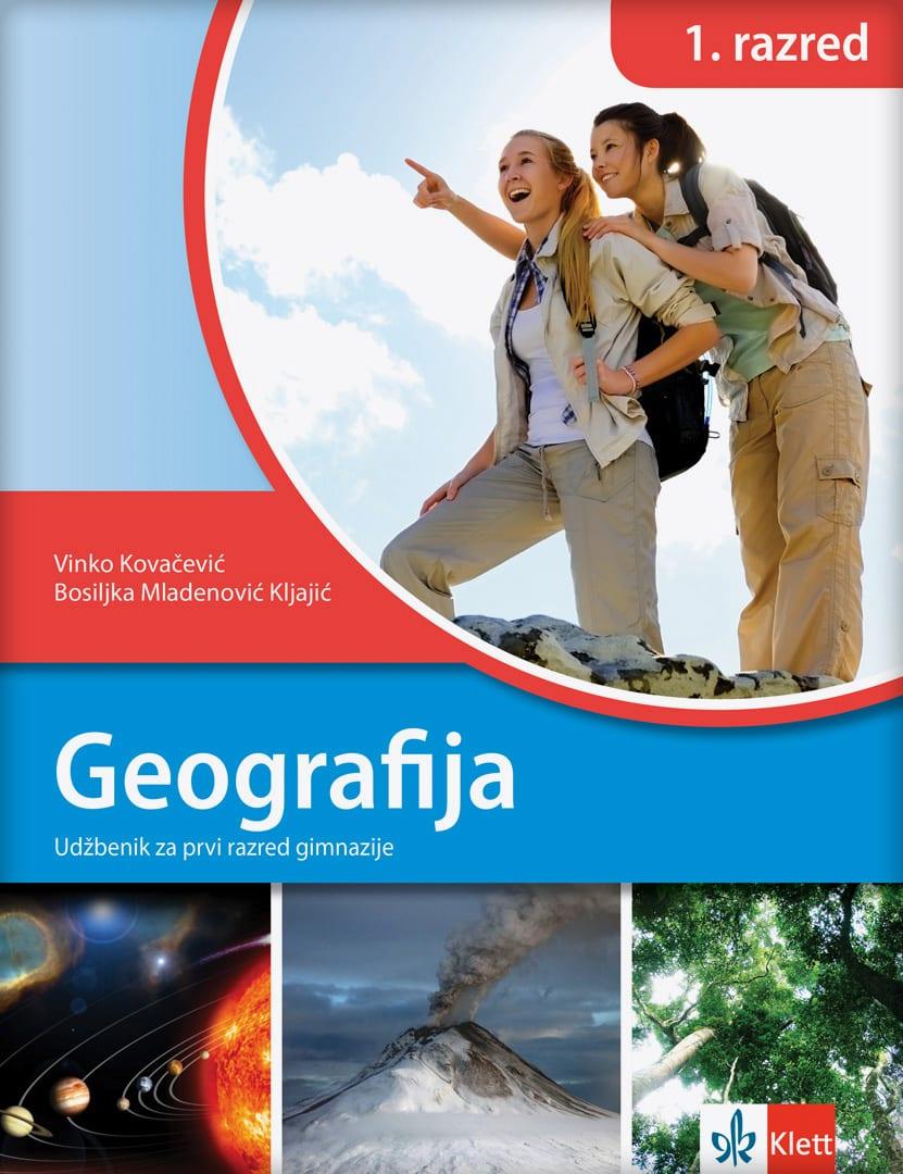 Geografija za prvi razred gimnazija, udžbenik