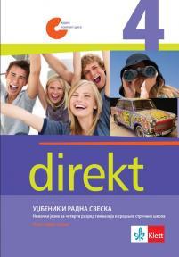 Nemački jezik Direkt 4, udžbenik i radna sveska