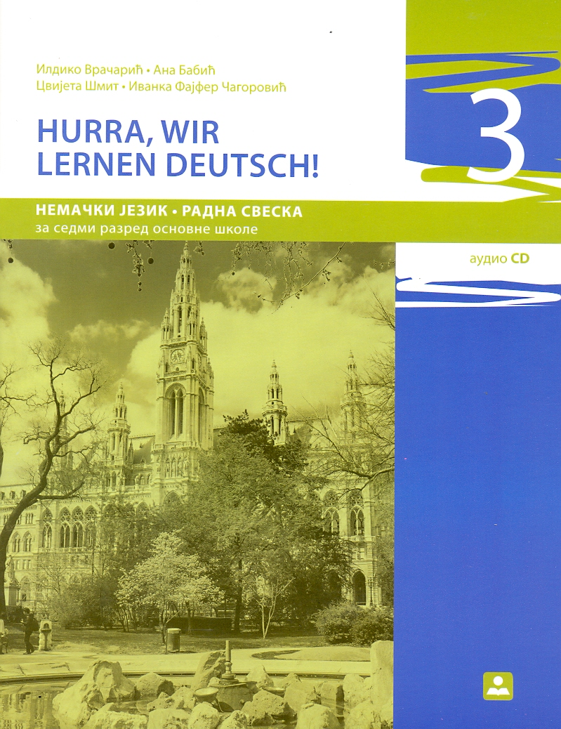 Hurra, wir lernen deutsch 3 !, radna sveska