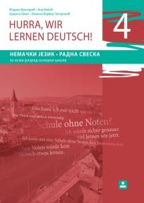 Hurra, wir lernen deutsch 4 !, radna sveska