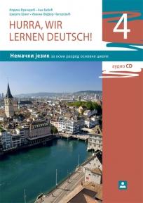 Hurra, wir lernen deutsch 4 !, udžbenik + CD