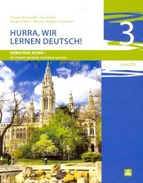 Hurra, wir lernen deutsch! 3, udžbenik + CD