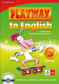 Playway to English 3, Engleski jezik za treći razred, udžbenik