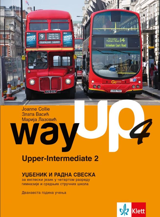 Way up 4, udžbenik i radna sveska + CD