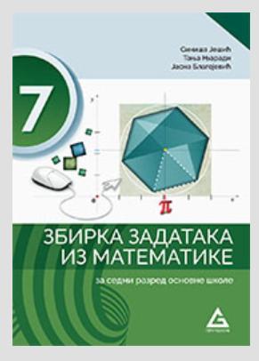 Zbirka zadataka iz matematike za 7. razred osnovne škole