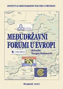 Međudržavni forumi u Evropi