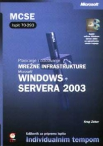 Planiranje i održavanje mrežne infrastrukture Microsoft Windows Servera 2003 Ispit 70-29