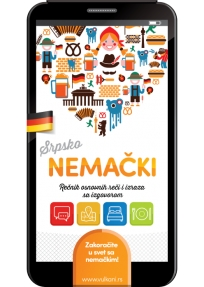 Srpsko - nemački rečnik osnovnih reči i izraza sa izgovorom