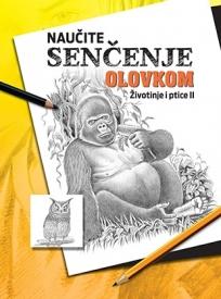 Naučite senčenje olovkom - Životinje i ptice II