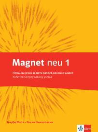 "Nemački jezik 5, udžbenik ""Magnet neu 1"" + CD"