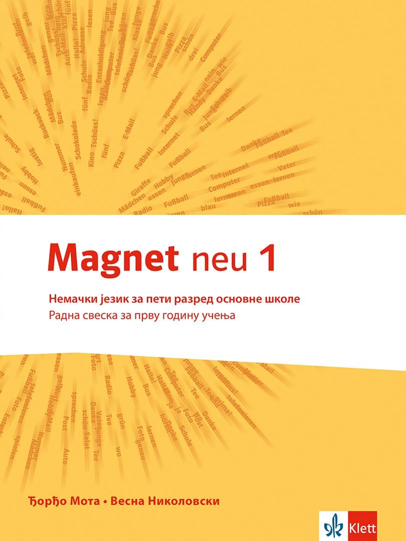 "Nemački jezik 5, radna sveska ""Magnet neu 1"" + CD"