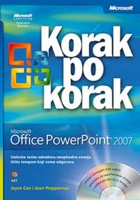 Microsoft Office Powerpoint 2007 korak po korak + CD