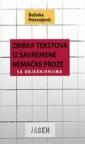 Zbirka tekstova iz savremene nemačke proze