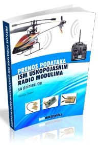 Prenos podataka ISM uskopojasnim radio modulima