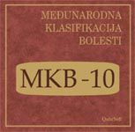 CD Međunarodna klasifikacija bolesti MKB 10