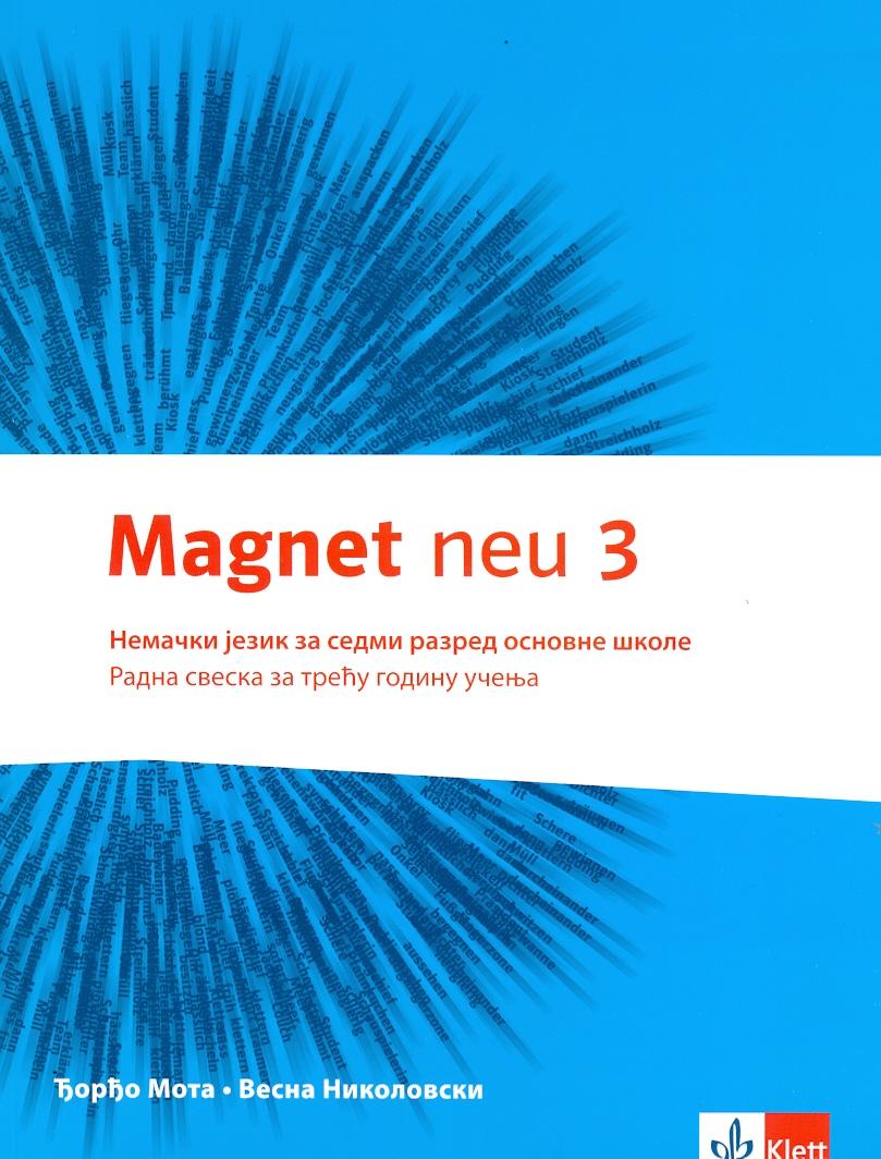 """Nemački jezik 7, radna sveska """"Magnet 3"""" + CD"""