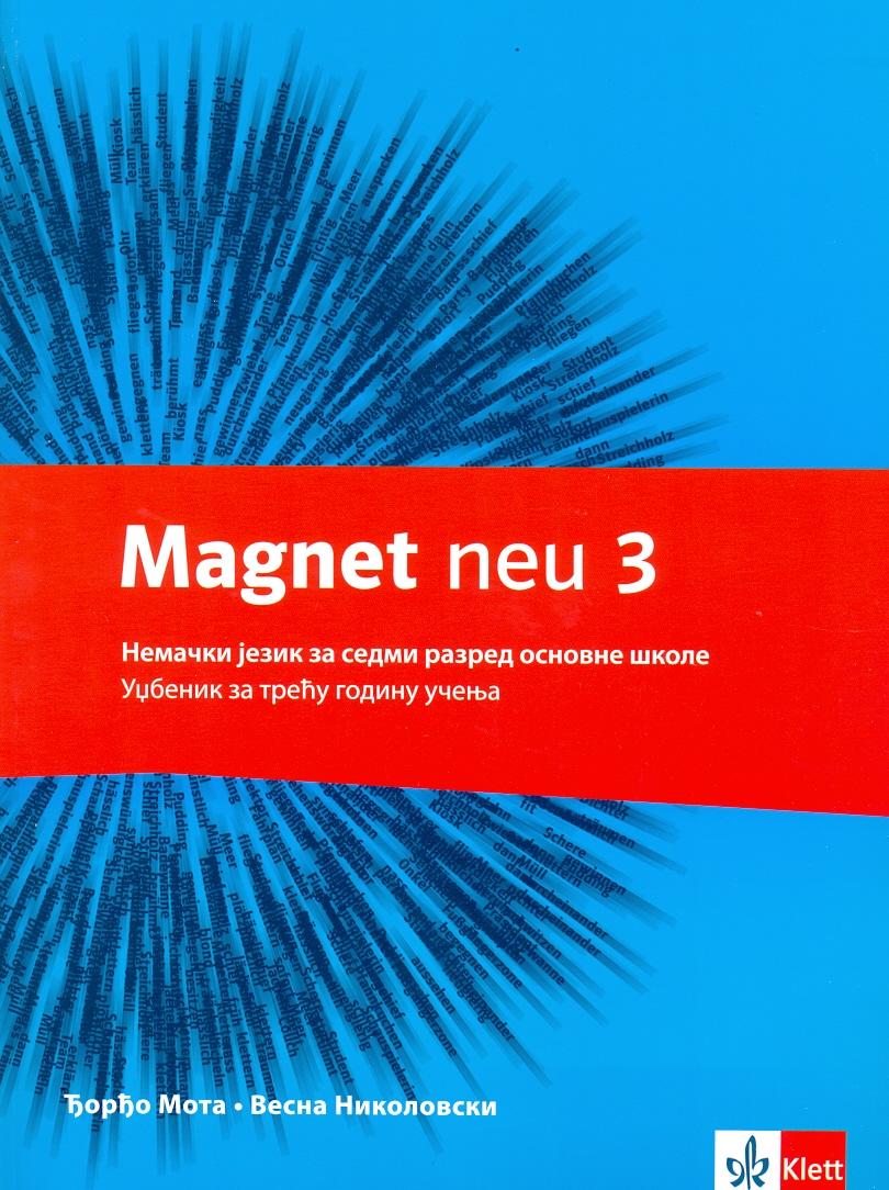 "Nemački jezik 7, udžbenik ""Magnet 3"" + CD"