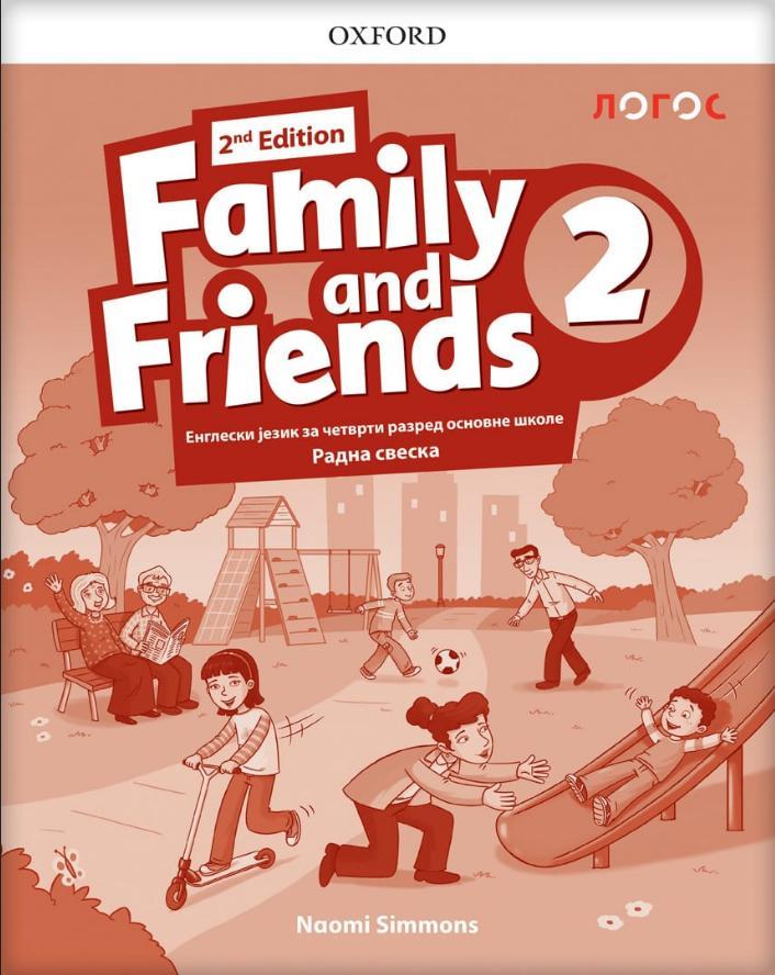 Family and Friends 2, radna sveska za četvrti razred LOGOS