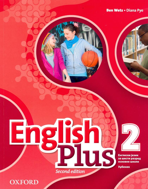 English Plus 2, udžbenik za šesti razred LOGOS