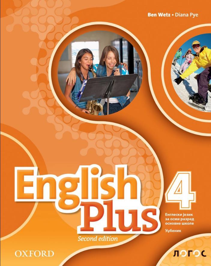 English Plus 4, udžbenik za osmi razred LOGOS