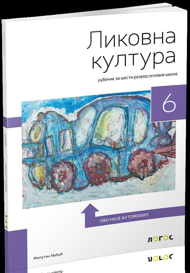 Likovna kultura 6, udžbenik LOGOS