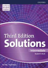 Solutions Third Edition Intermediatе, udžbenik za 2. i 3. razred srednje škole