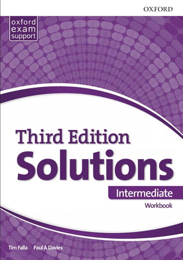 Solutions 2nd edition Intermediate, radna sveska za 2. i 3. razred srednje škole LOGOS