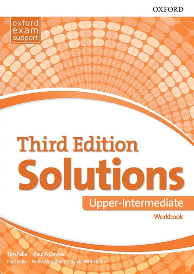 Solutions 2nd edition Upper-intermediate, radna sveska za 3. razred srednje škole LOGOS