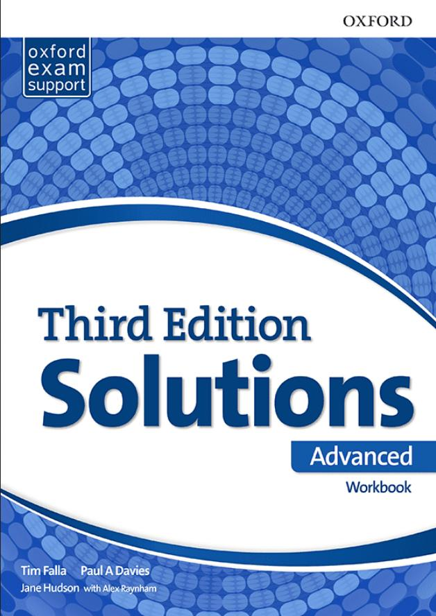 Solutions 2nd edition Advanced, radna sveska za 4. razred srednje škole LOGOS
