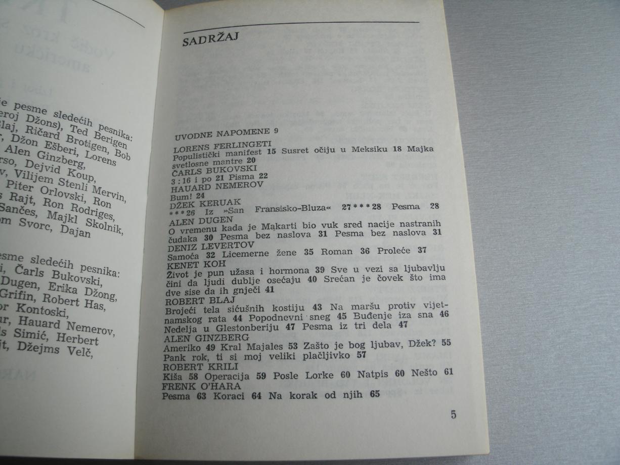 Trip - Vodič kroz savremenu američku poeziju - Priredili: Vladislav Bajac, Vl...