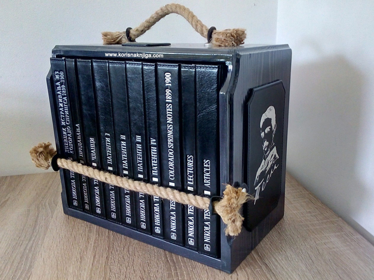 Sabrana dela Nikole Tesle - Nikola Tesla: knjiga ...