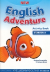 New English Adventure Starter A Activity Book radna sveska za 1. razred osnovne škole