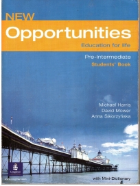 New Opportunities Global Pre-Intermediate, udžbenik za 1. razred srednje škole AKRONOLO