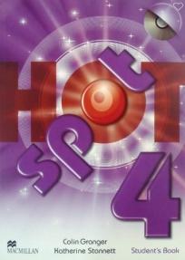 Hot spot 4, udžbenik iz engleskog jezika za 7. razred osnovne škole ENGLISH BOOK