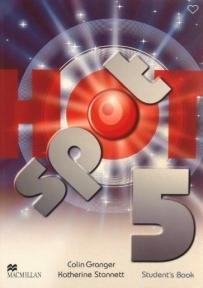 Hot spot 5, udžbenik iz engleskog jezika za 8. razred osnovne škole ENGLISH BOOK
