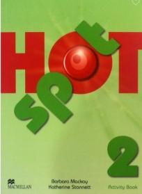 Hot spot 2, radna sveska za engleski jezik za 5. razred osnovne škole ENGLISH BOOK