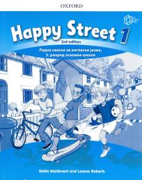 Happy Street 1, radna sveska + CD