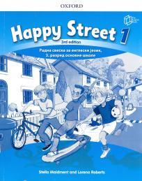 Happy street 1, radna sveska za engleski jezik za 3. razred osnovne škole ENGLISH BOOK